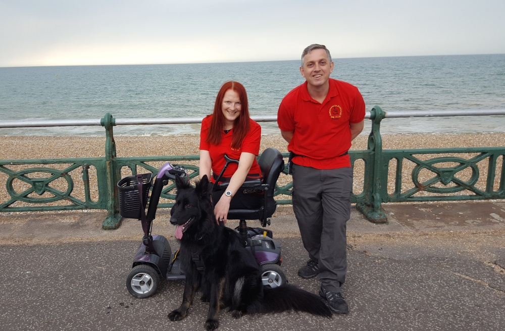 Mike Garner Dog A.I.D. Assistance Dog Trainer German Shepherd Brighton Hove Sussex