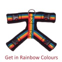 Perfect Fit Dog Harness Rainbow Colours Training Brighton Hove