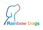Logo Rainbow Dogs training Brighton Hove